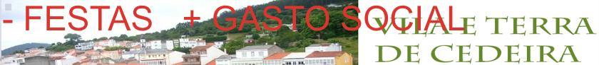 - FESTA + GASTO SOCIAL
